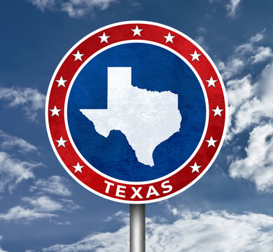 US State of Texas in America