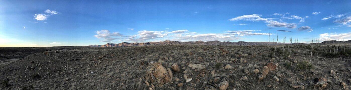 Desert-scape Little Book Cliffs Panorama