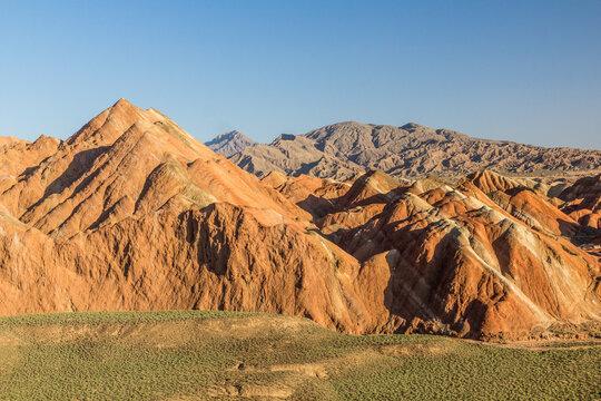 Colorful mountains of Zhangye Danxia National Geopark, Gansu Province, China