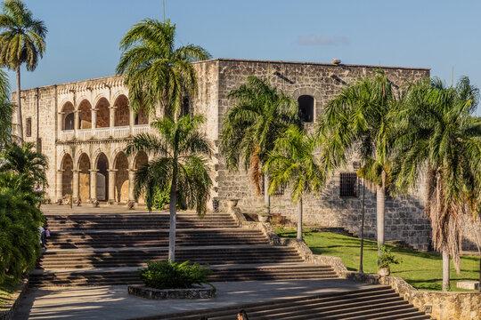 Alcazar del Colon building in Santo Domingo, capital of Dominican Republic.