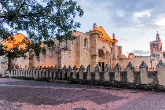 Cathedral of Santa María la Menor in the Colonial City of Santo Domingo, capital of Dominican Republic.