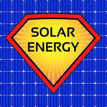 solar power energy superman sun