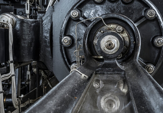 bearing unit of a historic steam engine
