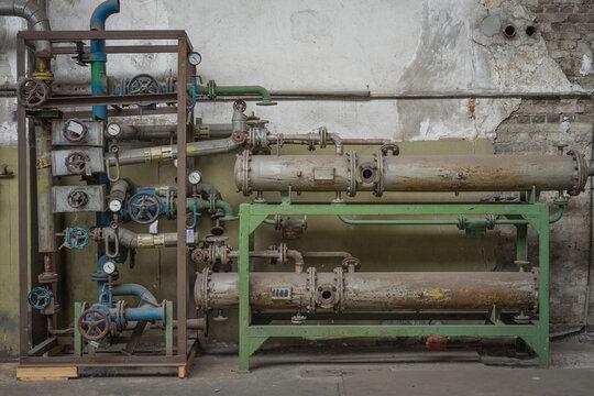 equipment in factory