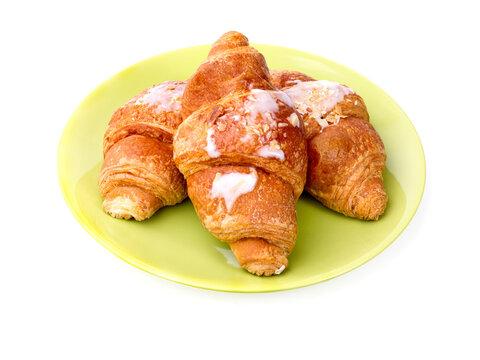 croissants fourrés aux amandes