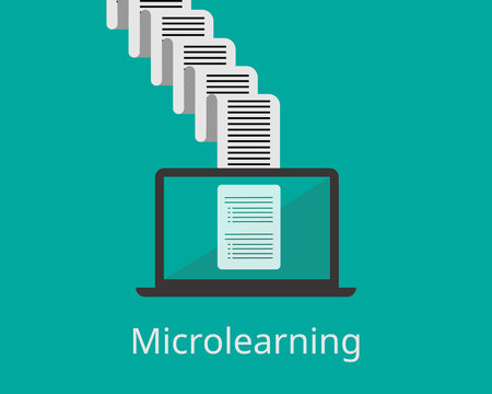 microlearning by digest knowledge from papers in one page vector