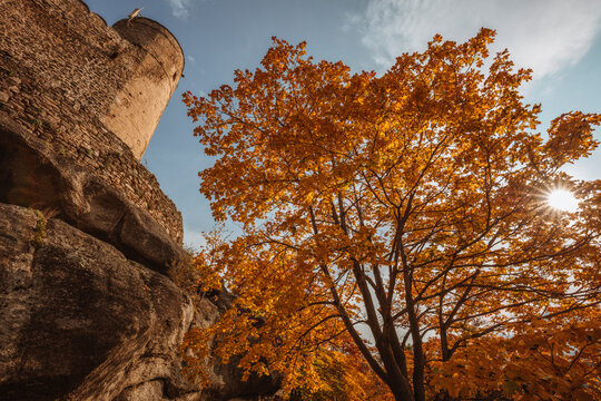 Chojnik Castle in Karkonosze National Park