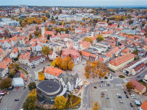 Old town of Zielona Gora