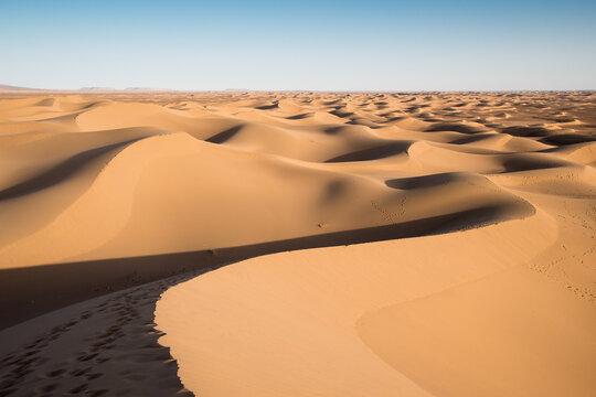 Des dunes à perte de vue