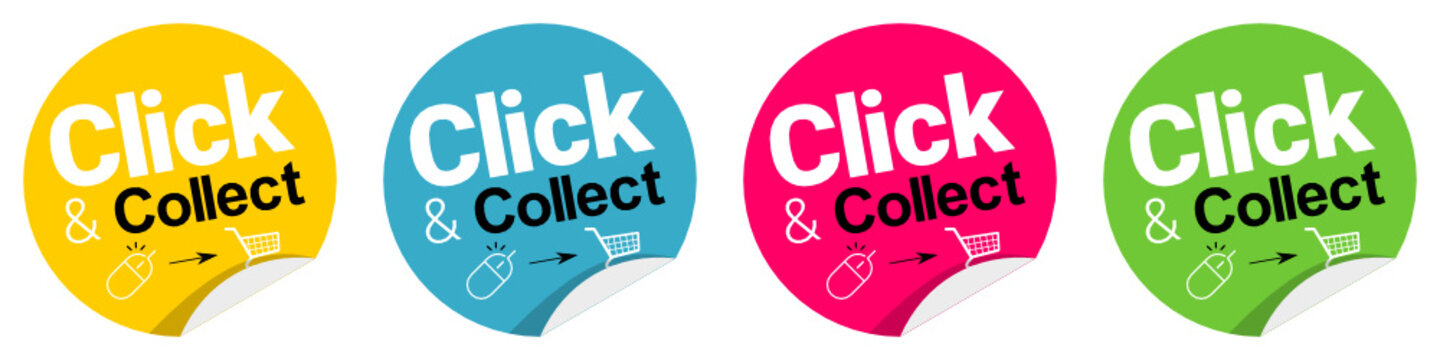 Click and collect - Click & Collect - pastille