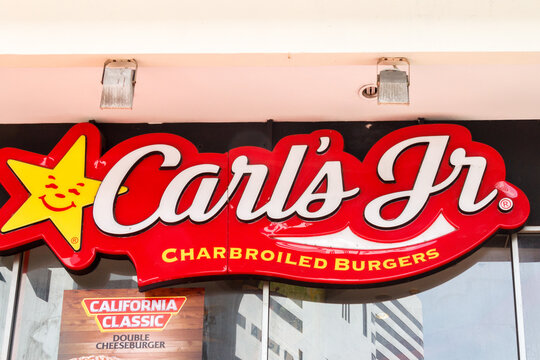 Sign for Carls Jr
