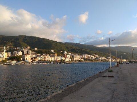 city and sea view in Yalova, Turkey