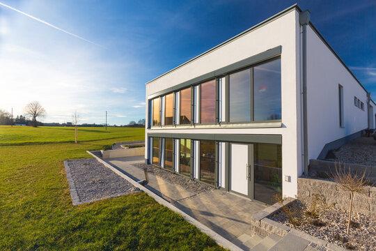 Germany, Bavaria, Mindelheim, modern design house