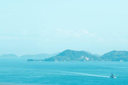 しまなみ海道から見える風景