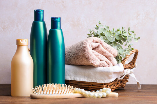 Hair care products and bath accessories