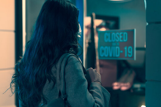 Store closed due to coronavirus outbreak