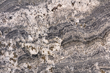 Alaska - natural polished granite stone slab, texture for perfect interior, background or other design project.