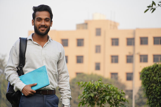 Collage Student at Indian collage campus