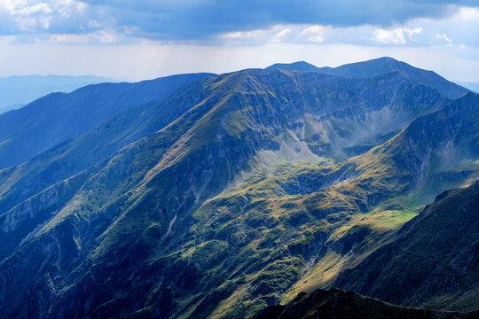 Suny day in  Romanian mountains, Fagaras, Sibiu county