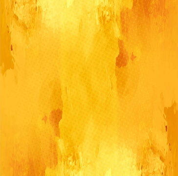 yellow watercolor background vector design illustration