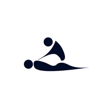 silhouette massage, massage therapy, health