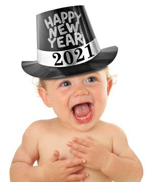 Happy new year baby 2021
