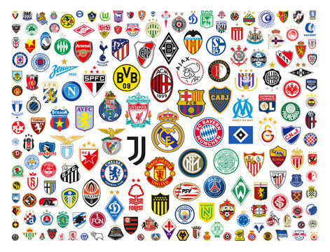 Vector Logos Of The World's Best Football Clubs