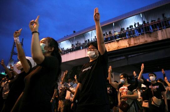 Pro-democracy rally in Bangkok