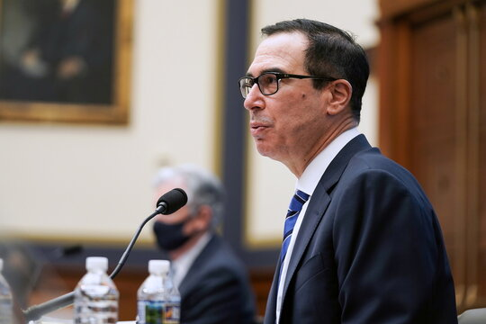 Oversight of Treasury Department's and Federal Reserve's Pandemic Response hearing in Washington