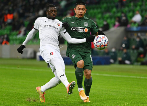 Champions League - Group E - Krasnodar v Stade Rennes