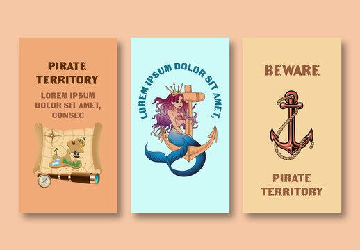 Pirate Story Set