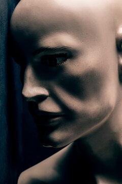 Male mannequin portrait