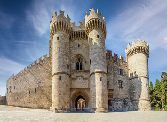 Wall Mural - The Palace of the Grand Master of the Knights of Rhodes Island, Greece