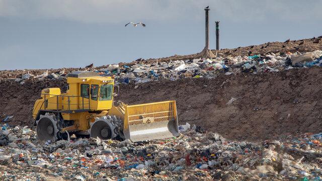 Enfouissement des ordures ménagères