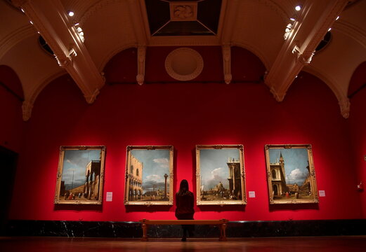 "Exhibition of Old Masters paintings, ""Masterpieces from Buckingham Palace"" at The Queen's Gallery, Buckingham Palace, London"