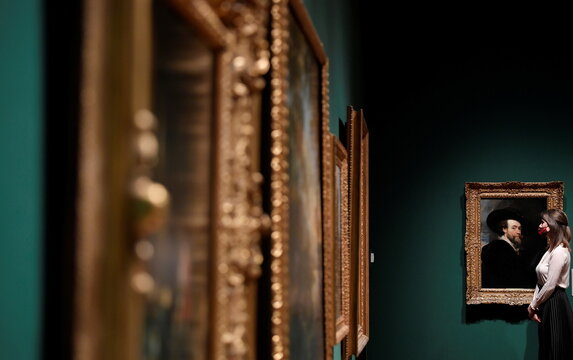 "Exhibition of Old Masters paintings ""Masterpieces from Buckingham Palace"" at The Queen's Gallery, Buckingham Palace, London"