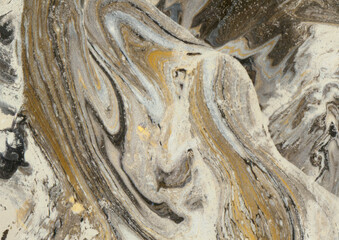 Beżowo brązowe tło kamień marmur, tekstura.