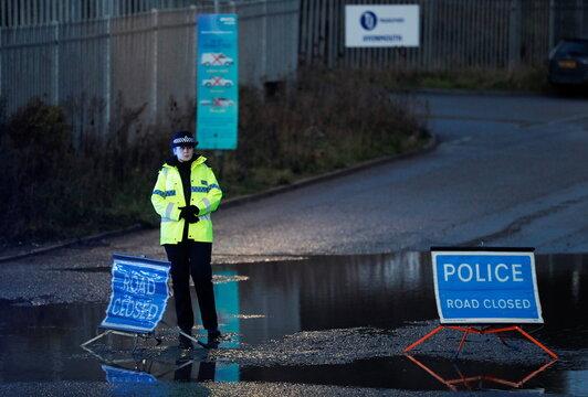 Explosion near Bristol