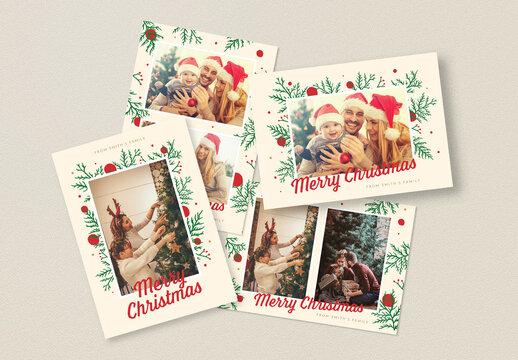 Christmas Photocard Layout