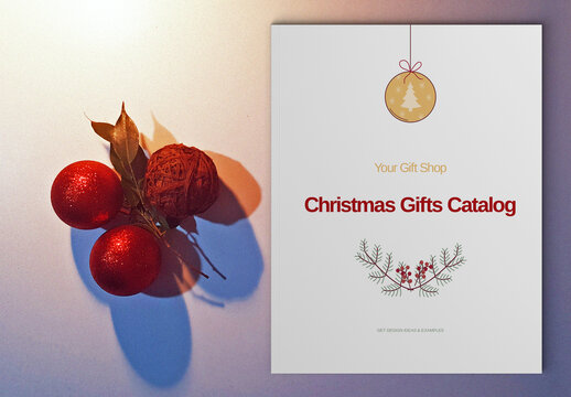 Christmas Catalogue Layout