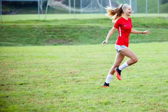 Teenage girl exited after game winning goal