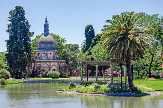 Old park in Buenos Aires, Argentina