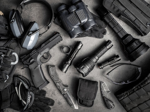 Tactical equipment and self defense everyday carry