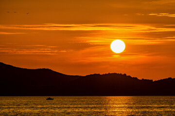 Zachód słońca Zadar 1