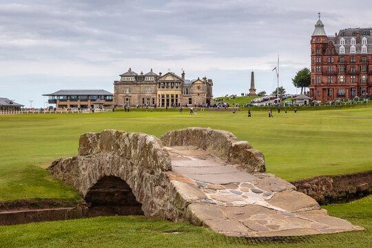 Swilcan Bridge St Andrews Golf Course