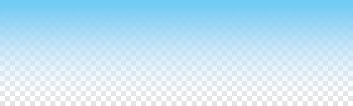 vector blue gradient bacground on transparent background