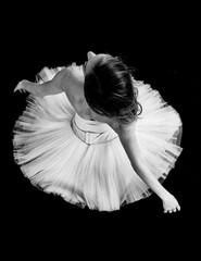 Black and White Ballerina