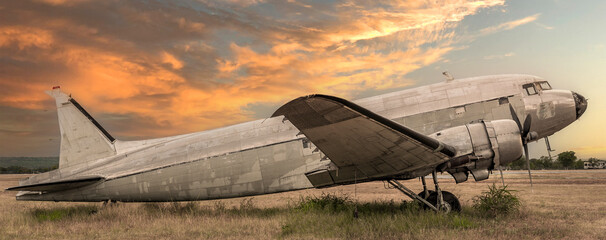 OLD PLANE WRECK