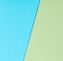 blue and green paper background
