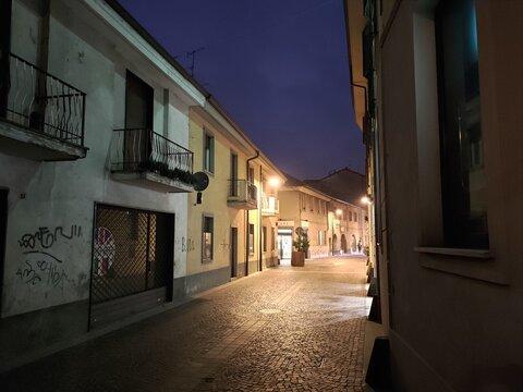 Arcore di  sera